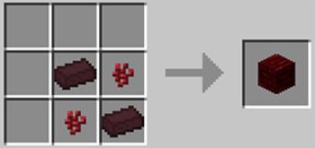 マインクラフト攻略 赤ネザーレンガの作り方レシピ