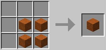 マインクラフト攻略 赤砂岩の作り方レシピ