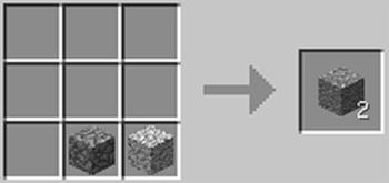 マインクラフト攻略 安山岩の作り方レシピ