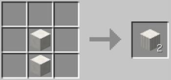 マインクラフト攻略 柱状ネザー水晶ブロックの作り方レシピ