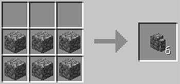 マインクラフト攻略 石の壁の作り方レシピ