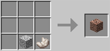 マインクラフト攻略 花崗岩の作り方レシピ
