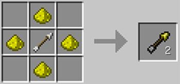 マインクラフト攻略 マーキングの矢(光の矢)の作り方レシピ