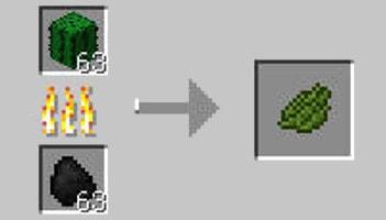 マインクラフト攻略 緑色の染料の作り方