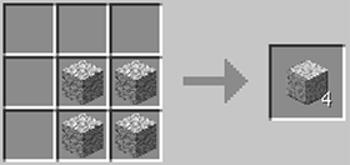 マインクラフト攻略 磨かれた閃緑岩の作り方レシピ