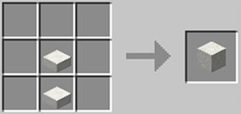 マインクラフト攻略 模様入りネザー水晶ブロックの作り方レシピ