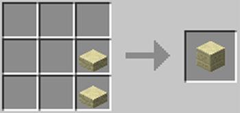 マインクラフト攻略 模様入り砂岩の作り方レシピ