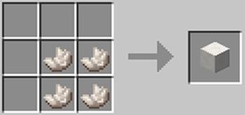 マインクラフト攻略 ネザー水晶ブロックの作り方レシピ