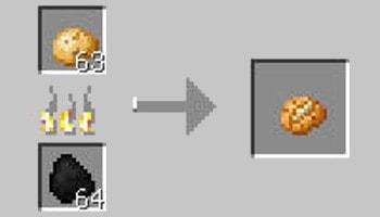 マインクラフト攻略 ベイクドポテトの作り方