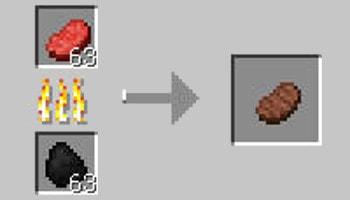 マインクラフト攻略 ステーキの作り方