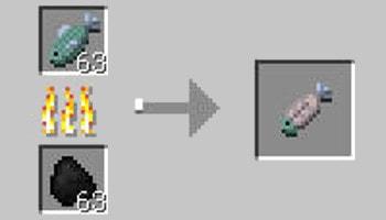マインクラフト攻略 焼き魚の作り方