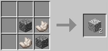 マインクラフト攻略 閃緑岩の作り方レシピ