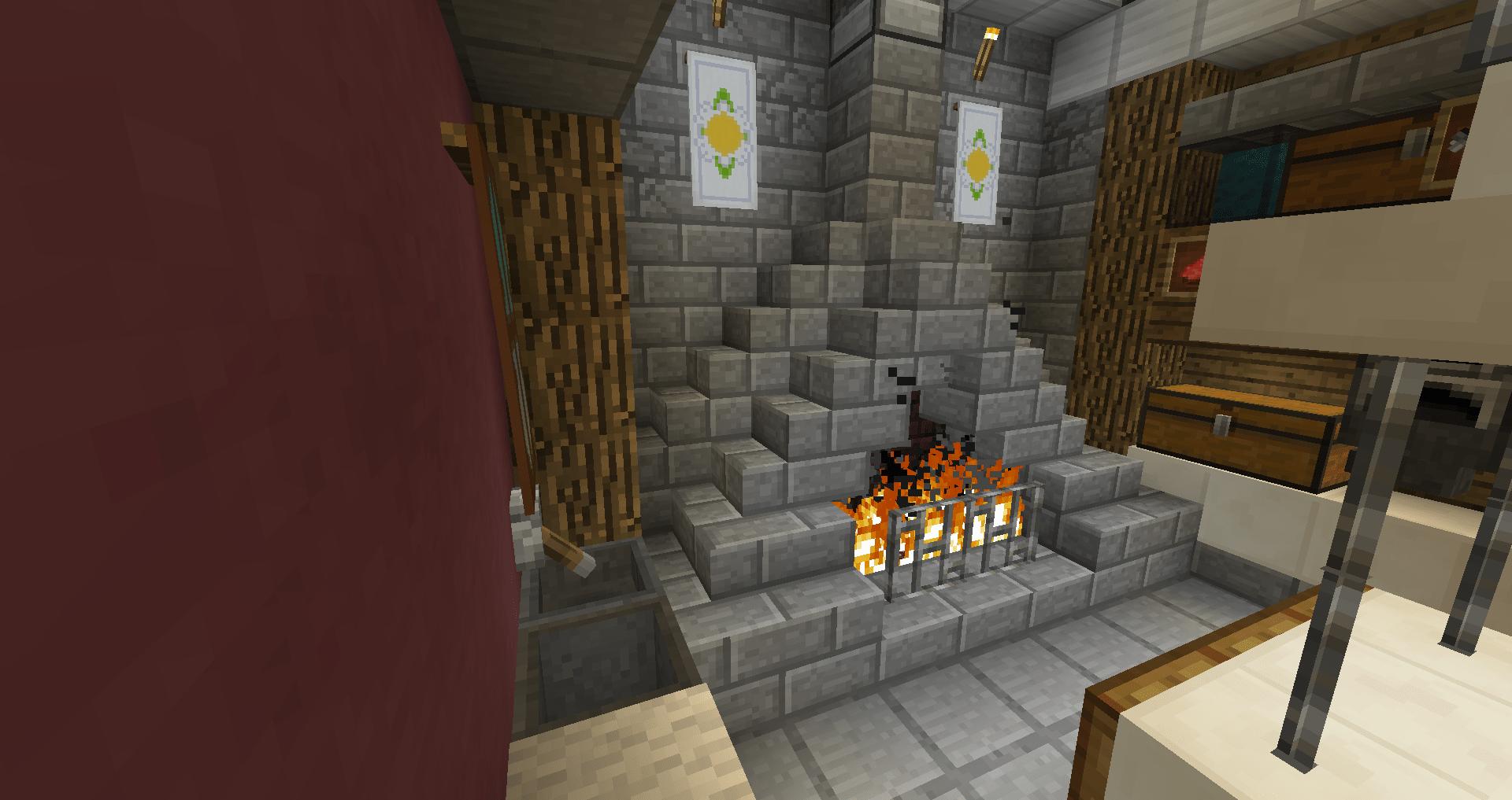 マインクラフト 火打ち石と打ち金を使ってかまどを作る