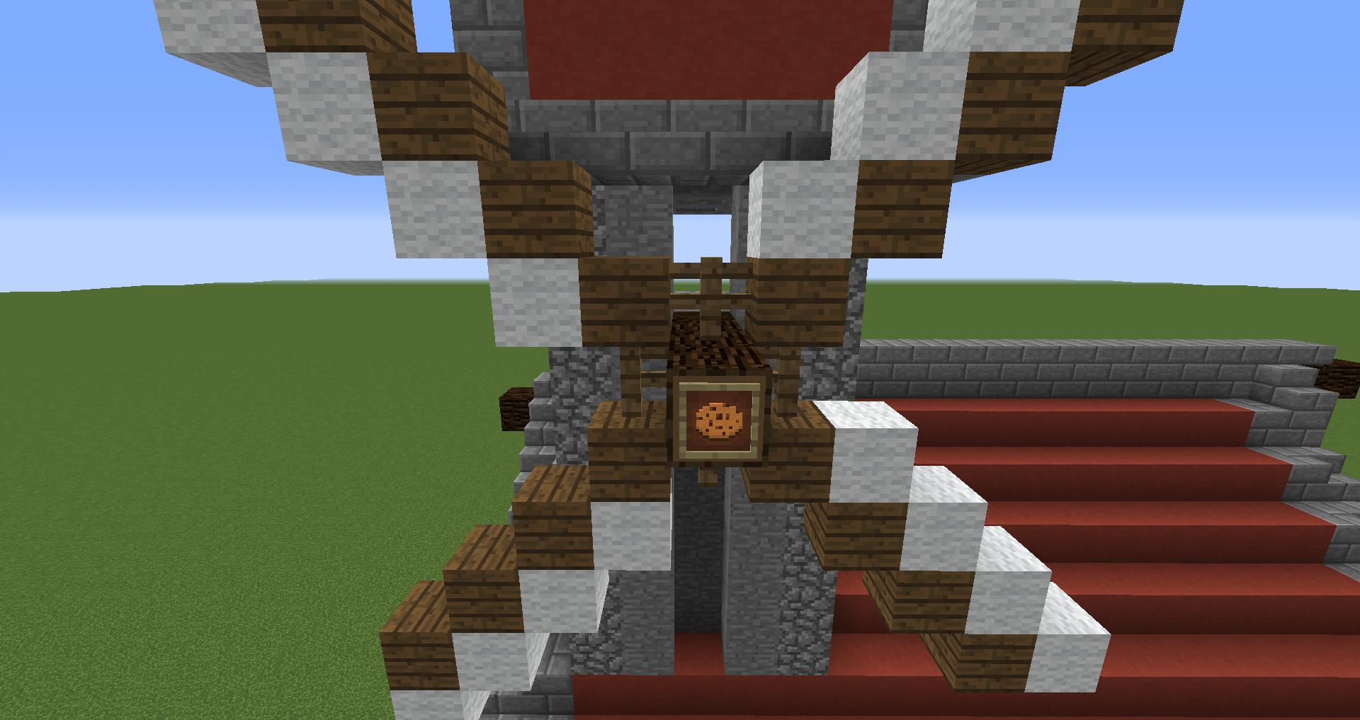 マインクラフト 風車小屋の作り方 簡単建築41