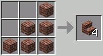 マインクラフト攻略 レンガの階段ブロックの作り方レシピ
