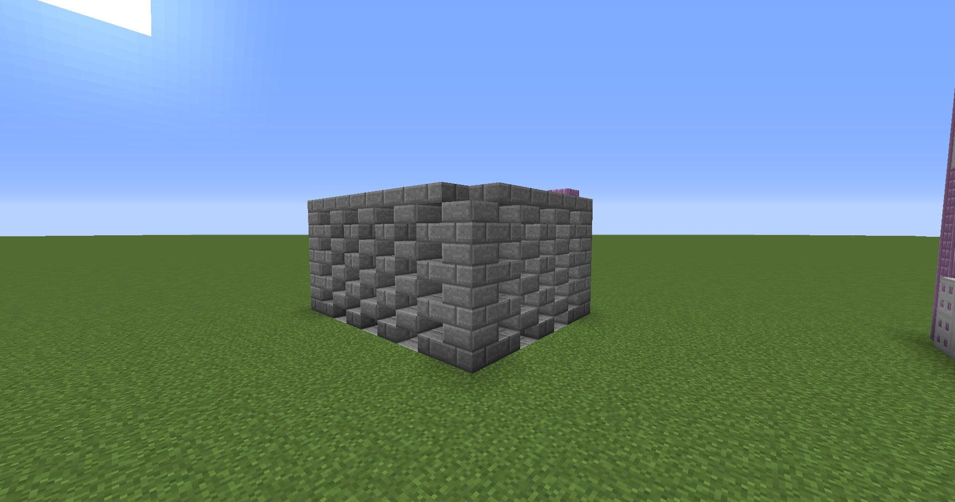 マインクラフト攻略 ハーフブロックの使い方