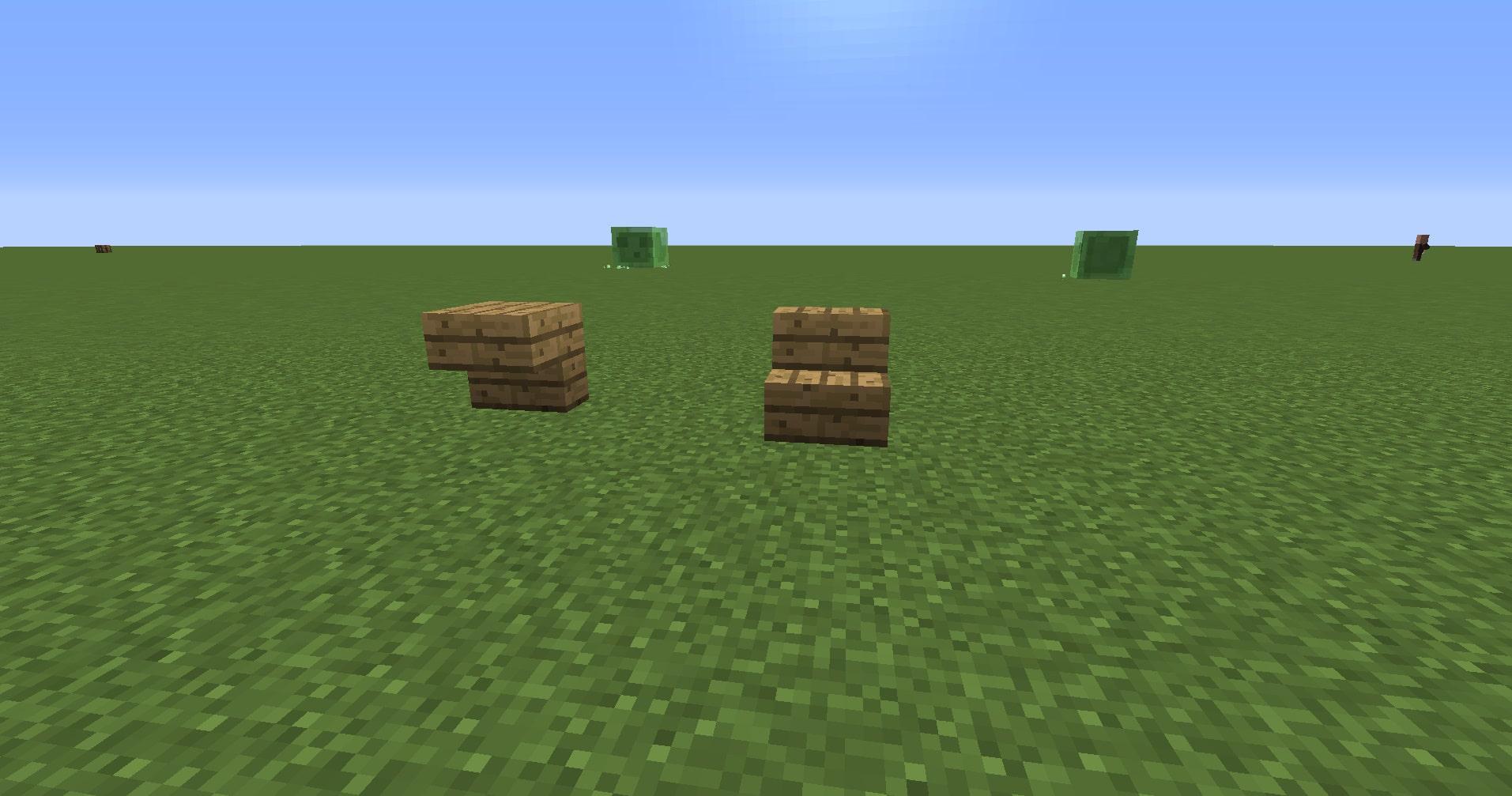 マインクラフト攻略 階段ブロックの使い方