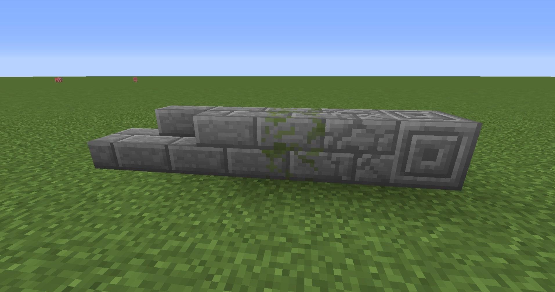 マインクラフト攻略 石レンガブロックの使い方
