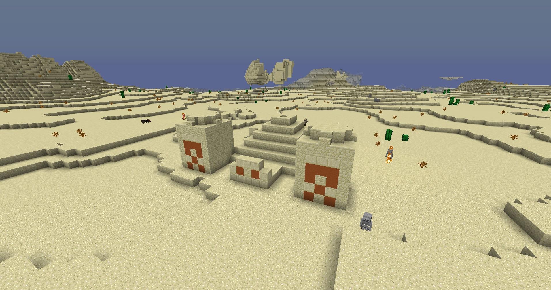 マインクラフト攻略 砂岩ブロックの使い方
