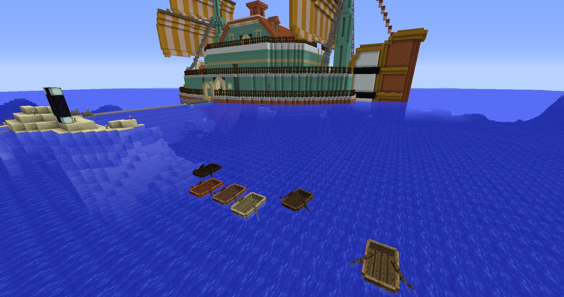 マインクラフト攻略 ボートの使い方