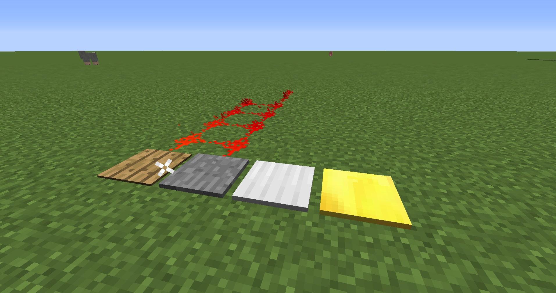 マインクラフト攻略 感圧板の使い方