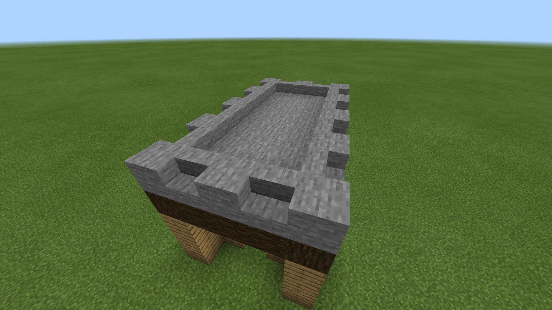 マインクラフト かんたん豆腐建築の作り方!初心者でも作りやすい家