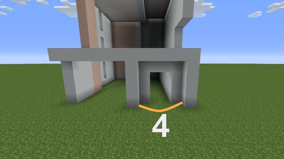 【マインクラフト】モダンな家の作り方