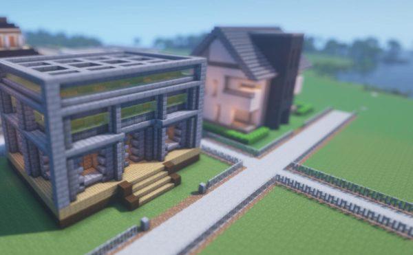 マインクラフト 倉庫兼家の作り方
